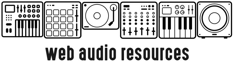 Web audio resources